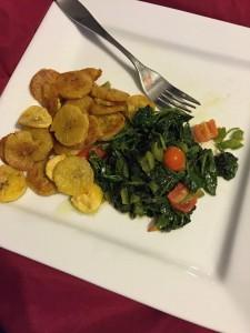 Burro banana & Kale