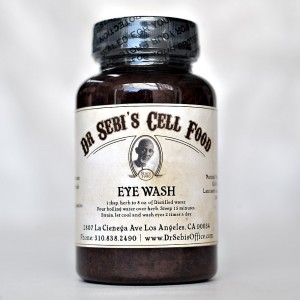 Eye wash - eyes
