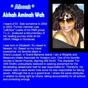 PROFILE - Aishah Aminah Wah